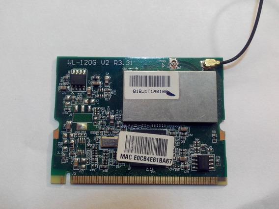 Placa Wifi P/notebook Pci Express Mini / Wl-120g V2