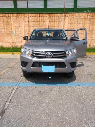 Imagen 1 de 15 de Toyota Hilux 2017 D/cabina Mid 4x2 Motor 2.7