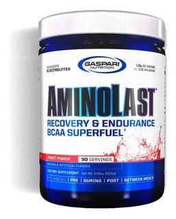 Aminolast 420g - Gaspari Nutrition - Aminoacidos Sabores