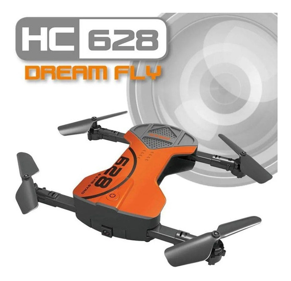 Drone Quadricoptero Hc 628 Dream Fly Camera Hd Foto E Video