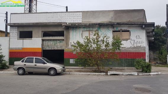 Loja Enorme Na Mirim, 180 M², Portas De Aço, Confira Na Imobiliária Em Praia Grande. - Mp12611
