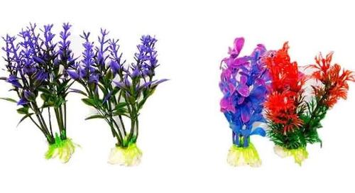 Flor Matas Para Acuario Peceras Decoración Peces Pez Flores