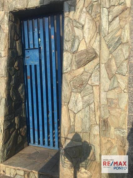 Casa Com 1 Dormitório Para Alugar, 40 M² Por R$ 600,00/mês - Vila Santa Luzia - Mogi Mirim/sp - Ca0146
