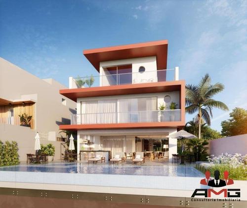 Casa Com 6 Dormitórios À Venda, 1075 M² Por R$ 12.102.347,25 - Riviera - Módulo 12 - Bertioga/sp - Ca0884
