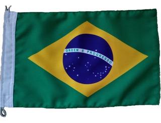 Bandeira Do Brasil E Rio Grande Do Sul Tam 22x33cm