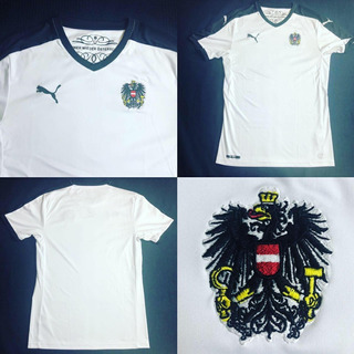 Camisa Áustria 2015-2016 Away Tam P (72x47) Puma