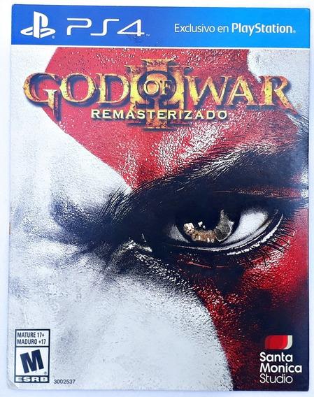 Jogo God Of War 3 Remastered Ps4 Mídia Física Frete Grátis