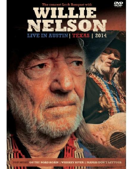 Willie Nelson Live In Austin Texas 2014 - Dvd Rock