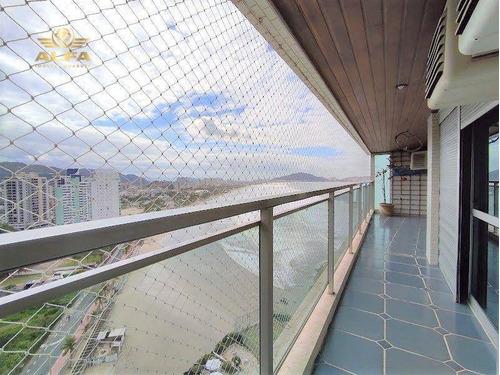 Imagem 1 de 30 de Apartamento À Venda Na Praia Das Pitangueiras, 3 Dormitórios, 2 Vagas. - Ap1087