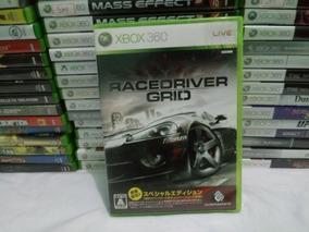 Cd Racerdriver Grid Xbox 360 Japones Ntsc-j