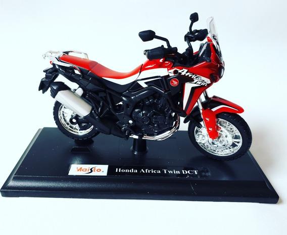 Miniatura Moto Honda África Twin 1/18 Maisto