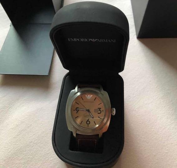 Relógio Empório Armani Ar-5831 Original Na Caixa