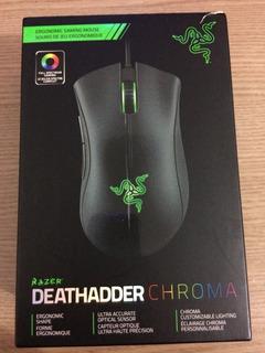 Mouse Razer Deathadder Chroma 10000dpi Pronta Entrega