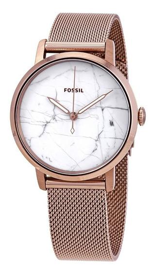 Reloj Fossil Neely En Acero Inoxidable Rose Gold