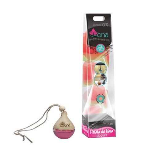 Ambientador Botellita Ona Petalos Rosa X1 Und