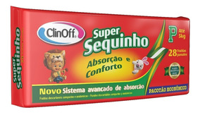 Fralda Inf Clin Off C/28 Super Sequinho Econômico Pq