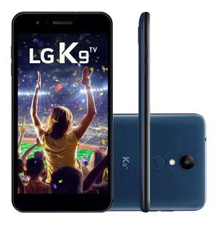 Celular Lg K9 Tv, Dual Chip, Azul, Tela 5 , 4g, 16gb Anatel