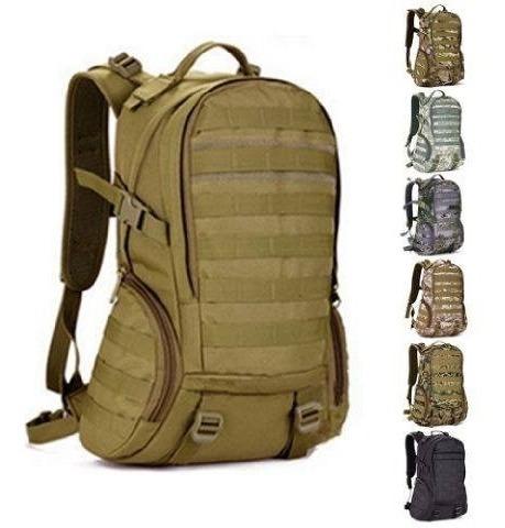 Mochila 25 Litros Militar Outdoor/tactica/urbana/trekking