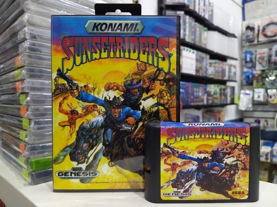 Sunsetriders Com Caixa Para Mega Drive