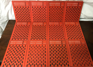 Livro, Coleção: Enciclopédia Delta Júnior, Em 12 Volumes