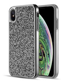 62c147154bb Funda Case Brillos iPhone Xs Max / Xr / 8 Plus / 7 Plus Bk