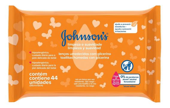 Lenços Umedecidos Johnson