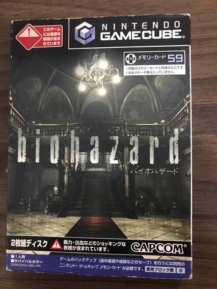 Resident Evil Japones Na Caixa Game Cube