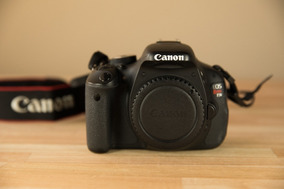 Canon T3i Nova Somente Corpo