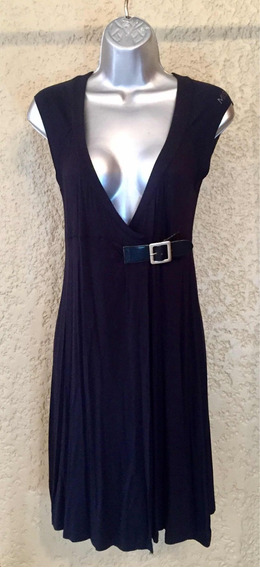 Vestido De Algodón Negro Marca Miss Sixty Talla M