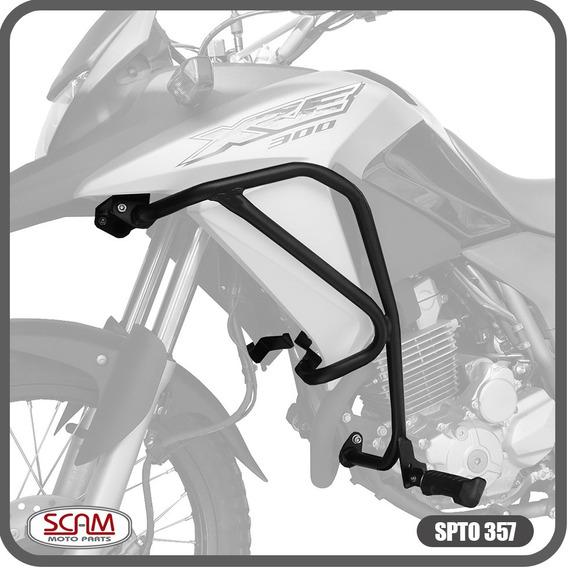Spto357 Scam Protetor Motor Carenagem Honda Xre300 2010+
