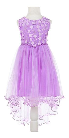 Vestido Importado Nena Cortejo,fiestas,comunion, Cumpleaño,