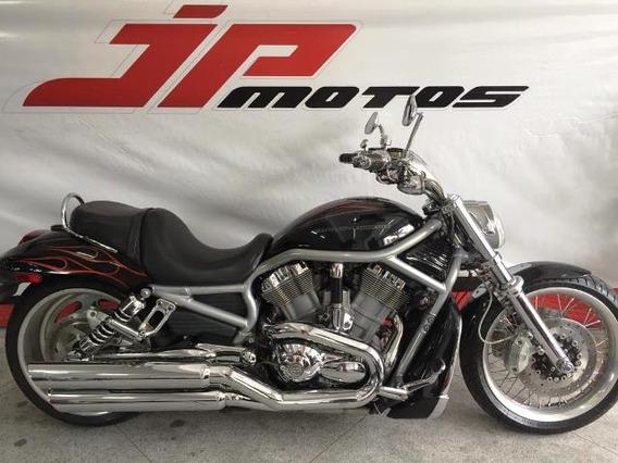 Harley Davidson Vroad 1250 Preta 2008