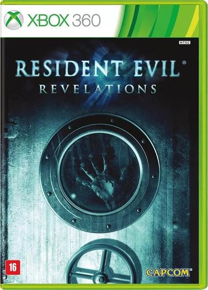Resident Evil Revelations - Xbox 360 - Novo