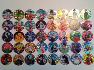 Colección Tazos Prismas Dragón Ball Súper Sabritas, Gamesa