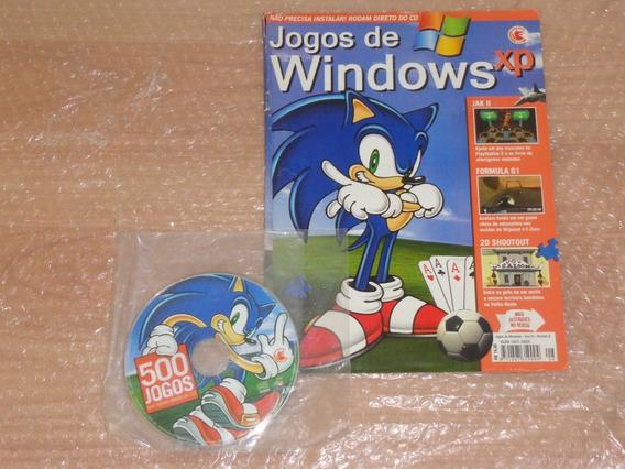 500 Jogos - Sonic , Jak , Futebol , Zumbi , Punch Out - Pc
