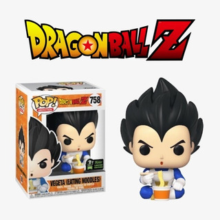 Funko Pop Vegeta Eating Noodles 758 Dragon Ball Z
