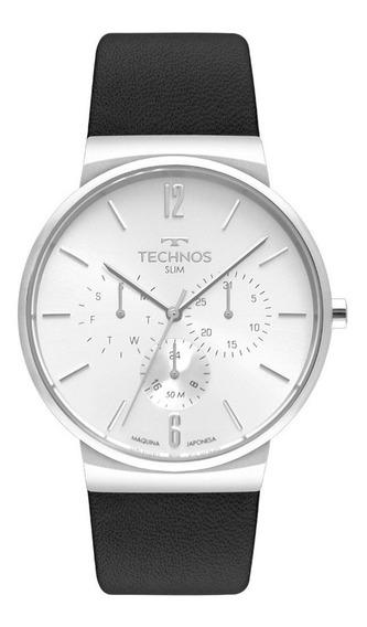 Relógio Technos Masculino Classic Slim 6p29akq/0b