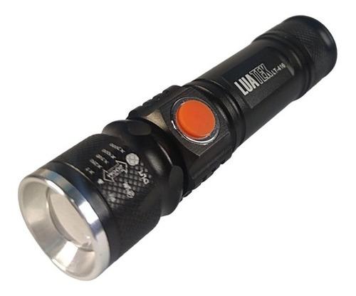 Imagem 1 de 5 de Lanterna Tática Usb
