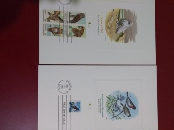 Snwy Owl Estampilla De Fauna De Colección