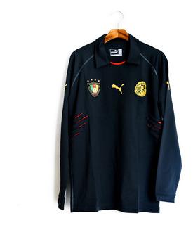 Camisa De Goleiro De Futebol Camarões 2004/06 Puma