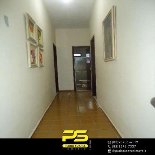 Casa Com 3 Dormitórios E Ponto Comercial À Venda, 165 M² Por R$ 850.000 - Tambauzinho - João Pessoa/pb - Ca0794