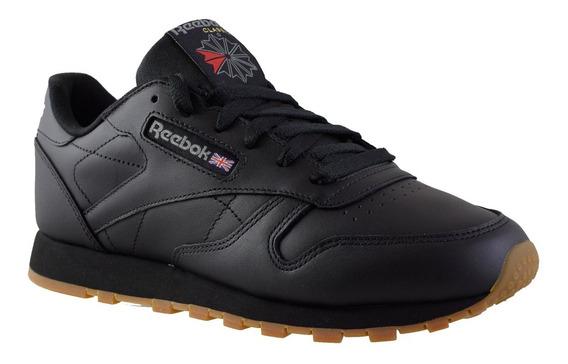 Zapatillas Reebok Cl Lthr Mujer Negro