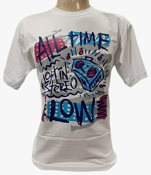 Camiseta All Time Low - Lost In Stereo - Tamanho M (fla)