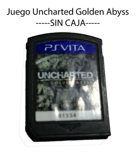 Juego Uncharted Golden Abyss - Psvita - Sin Caja