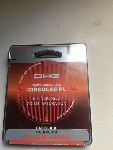 Imagen 1 de 5 de Filtro Polarizador 77mm Marumi Dhl Circular Pl