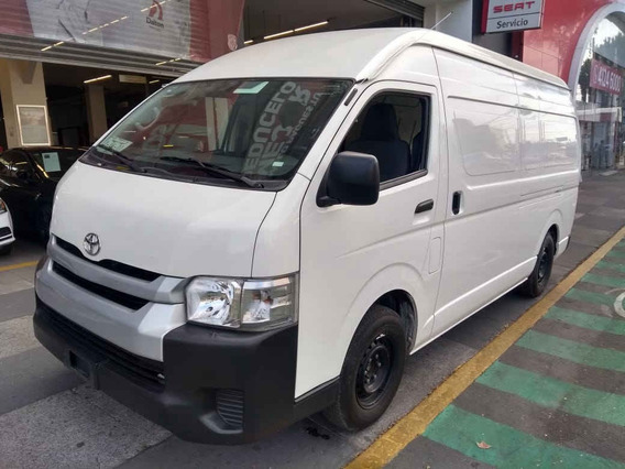 Toyota Hiace 2018 5p Panel Superlarga L4/2.7 Man