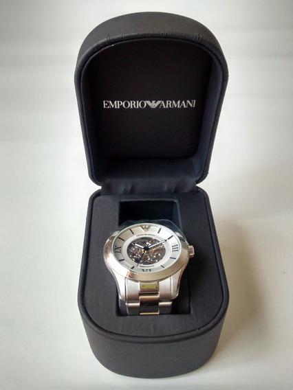 Relógio Empório Armani, Modelo Ar4647 Novo, Com Certificado.