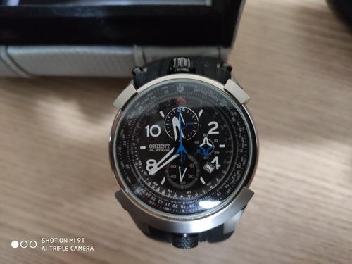 Relógio Orient Fly Tech Titânio