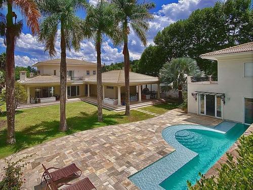 Casa Com 4 Dormitórios À Venda, 1342 M² Por R$ 5.750.000,00 - Jardim Mediterrâneo - Cotia/sp - Ca0718