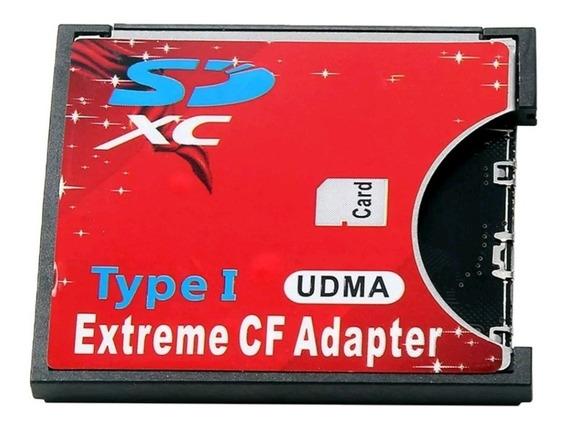 Adaptador Compact Flash Cf Para Sd Tipo 1 Cameras Cf